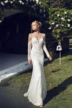 Riki Dalal 2014 Wedding Dress Collection | Sheer Sexy Wedding Dresses | Bridal Musings Wedding Blog