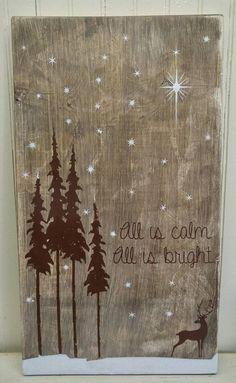 Sign idea-add lights in stars