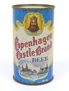 Copenhagen Castle Brand Beer ,Brooklyn NY , 1965