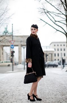Chill Girls: Cold Weather Street Style From Berlin