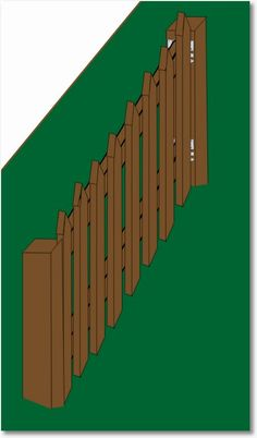 How To Build A Picket Fence – The Fast And Easy Way
