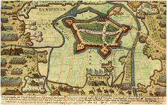 Eindhoven - De belegering en de inname van de stad Eindhoven door de graaf van Mansfelt - 1583