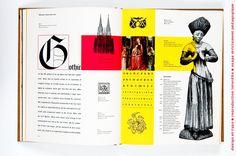 Bradbury Thompson Design Typo, Web Design, Editorial Layout, Editorial Design, Typography Letters, Lettering, Communication Art, Vintage Graphic Design, Design Graphique