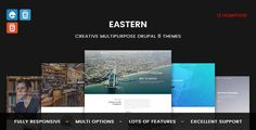 Eastern is a Creative Multi Concept Drupal 8  Theme with responsive and parallax features. It is well suited for agency, freelancer, small or business websites, personal portfolio and blogs. It is ...