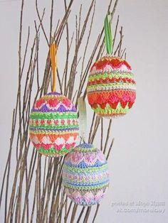Вязаные пасхальные поделки. Идеи для вдохновения SKRMASTER.BY — Handmade ярмарка Беларусь
