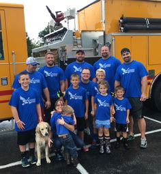 Core Fitness DeVaughan Strong at Special Olympics Pumper Pull