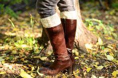 Ravelry: Jennifer Boot Cuffs pattern by Kate Bostwick