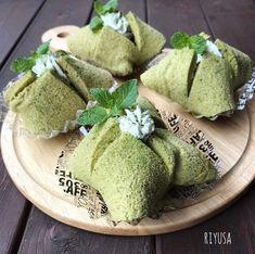 型不要!!初めてサンでも簡単❤️失敗なしの抹茶シフォンケーキ | riyusa日和。ポンコツ主婦のザッパレシピ。