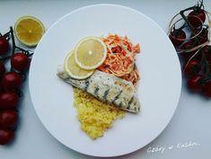 Czary w kuchni- prosto, smacznie, spektakularnie.: Sandacz z ryżem i marchewkową surówką French Toast, Fish, Breakfast, Morning Coffee, Morning Breakfast, Ichthys