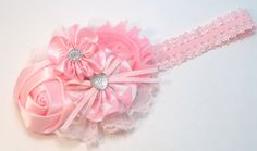Pink Boutique Handmade Hair Bow Fits Baby, Girls, Teens, Women