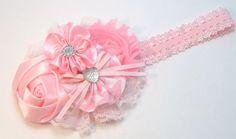 Pink Boutique Handmade Hair Bow Fits Baby, Girls, Teens, Women