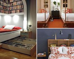 Here are our 30 Cool Bedroom Ideasthat will let you get inspired for your bedroom design. Which one below is your favorite bedroom design? Swing bed? wooden pallets bed or bed on lockable casters? 1. Set your bed up against a wall so you can prop pillows up when you need to use it as […]