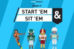Start 'Em & Sit 'Em for Week 17 Ems, Content, People, Movie Posters, Film Poster, People Illustration, Billboard, Film Posters, Folk