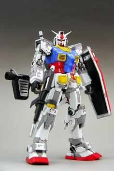MG 1/100 RX-78-2 Gundam - Customized Build Modeled by jacal1646