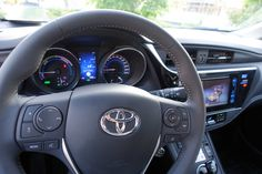 2016 Toyota Auris Hybrid Cockpit #Toyota #auris #hybridcars #aurishybrid #cars #motor #Automotive #biler