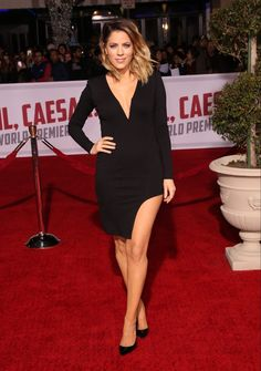 "Celebrities attend Premiere Of Universal Pictures' ""Hail, Caesar!"" at Regency Village Theatre Los Angeles. Featuring: Stephanie Bauer Where: Los Angeles, California, United States When: 02 Feb 2016 Credit: Brian To/WENN.com"