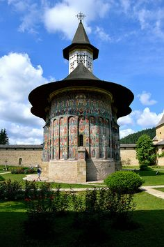 Painted monastery of Sucevita, Moldavia European Countries, Romania, Places Ive Been, Places To Visit, Explore, Photo And Video, Country, World, Temples