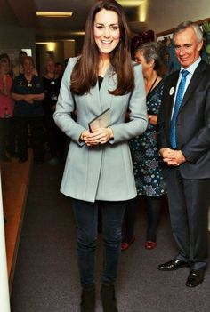 The Duchess of Cambridge visited the Shooting Star House Children's hospice.