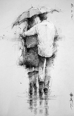 Sulle ali della poesia…: Andre Kohn - Everything About Charcoal Drawing and Sculpture Life Drawing, Figure Drawing, Painting & Drawing, Pencil Art Drawings, Art Drawings Sketches, Arte Sketchbook, Illustration Art, Illustrations, Art Graphique