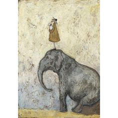 Sam Toft Nice View That | Signed Limited Edition Art Print | Free UK Delivery | The Rose Gallery