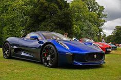 29. 2013 Jaguar C-X75 Concept - Gina.