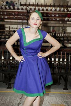 Lovely Mariquita - mooie combinatie blauw-groen