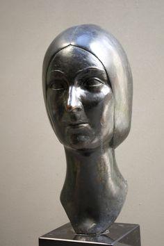 AUDFRAY Etienne, sculpture en bronze - Corinne Forget - I/IV - 1984