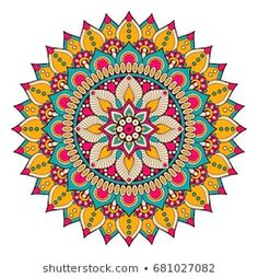Find Flower Mandala Vintage Decorative Elements Oriental stock images in HD and millions of other royalty-free stock photos, illustrations and vectors in the Shutterstock collection. Mandala Sketch, Mandala Doodle, Mandala Art Lesson, Mandala Artwork, Mandala Drawing, Mandala Painting, Doodle Art, Motif Oriental, Oriental Pattern