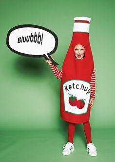 "Costume de mascarade ""Ketchup"""