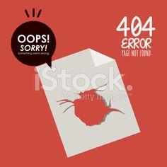 Error design royalty-free stock vector art