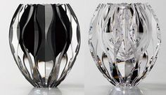Product Details - Silver & Black Mosaic Glass Vase