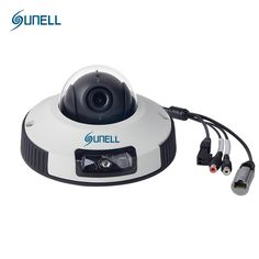 SUNELL Brand Mini Dome Camera Indoor 720P with IR POE 2.8MM 3.6MM Lens New Security IP Camera E4ZD Vandal-proof CMOS Hot Sale