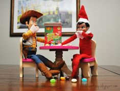 100 Genius Elf On The Shelf Ideas To Steal This Christmas , - Elf on the shelf Christine Taylor, Christmas Activities, Christmas Traditions, Birthday Traditions, Elf Auf Dem Regal, Der Elf, Awesome Elf On The Shelf Ideas, Elf Magic, Elf On The Self
