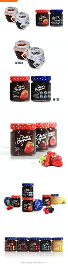 Before & After: Abrico, a Well-Established Russian Jam PD Organic Packaging, Dessert Packaging, Cool Packaging, Food Packaging Design, Bottle Packaging, Jar Labels, Food Labels, Fruit Illustration, Jam Jar