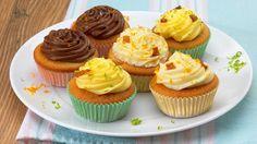 Vegan Orange and Ginger Cupcakes