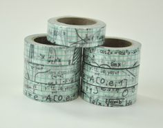 Math Notes Washi Tape by Freckled Fawn