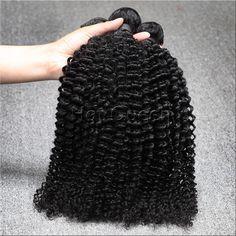 6A Brazilian Kinky Curly Virgin Hair 100% Unprocessed Human Hair Weave Bundles Afro Kinky Curly Hair 3 Bundles Lot Free Shipping www.hotqueenhair.com