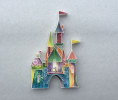 Quilled Paper Art: The Place Where Wishes Come True by SenaRuna