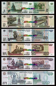 Russia banknotes - Russia paper money catalog and Russian currency history