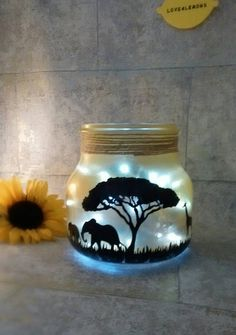 Check out this item in my Etsy shop https://www.etsy.com/uk/listing/468820514/safari-night-light-desert-sky-lamp
