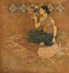Edmund Dulac | Pirouze | Arabian nights, 1911