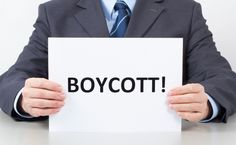Why Do States Want to Punish Boycotters?  How can you tell that economic boycotts are a powerful political tool? Probably because the government is trying to crack down on them. As Slate reports, 22 states have either already passed laws or are currently advancing legislation aimed to punish groups that participate in boycotts.