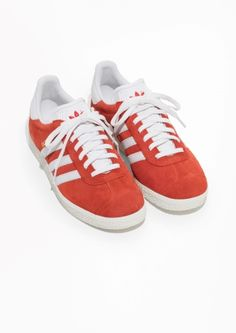 & Other Stories image 2 of adidas Gazelle in Red