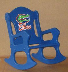 Child's Rocking Chair -Gators- - toddler