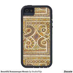 Beautiful Romanesque Mosaic iPhone 5 Cases