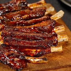 Try this Tennessee Smokehouse BBQ Ribs recipe. Ribs On Grill, Bbq Ribs, Grill Oven, Grilled Steak Recipes, Grilling Recipes, Marinated Steak, Sauerkraut, Smoked Pork Ribs, Easter Dinner Recipes