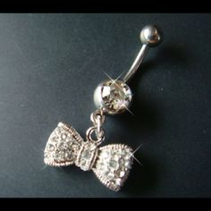Bow Belly Button Ring! :)