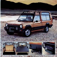 Matra - Simca Rancho - My old classic car collection Retro Cars, Vintage Cars, Matra, Good Looking Cars, Nissan Gtr Skyline, Old Classic Cars, Premium Cars, Truck Camper, Car Wheels