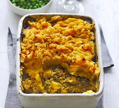 Swap mashed potato for vibrant sweet potato and bulk out your lean lamb or beef mince with red lentils for a slimmer take on this comforting classic
