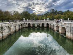 Roman Baths In Nimes